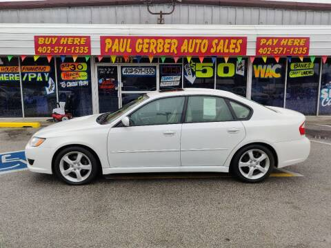 2009 Subaru Legacy for sale at Paul Gerber Auto Sales in Omaha NE