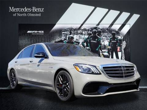 2020 Mercedes-Benz S-Class for sale at Mercedes-Benz of North Olmsted in North Olmstead OH