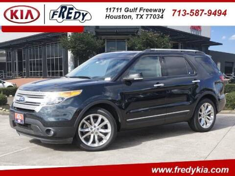 2015 Ford Explorer for sale at FREDY KIA USED CARS in Houston TX