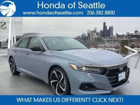 2021 Honda Accord for sale at Honda of Seattle in Seattle WA