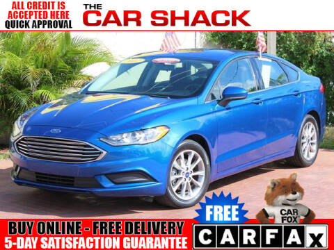 2017 Ford Fusion for sale at The Car Shack in Hialeah FL