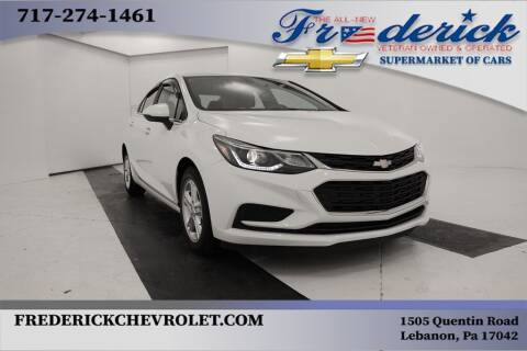 2016 Chevrolet Cruze for sale at Lancaster Pre-Owned in Lancaster PA