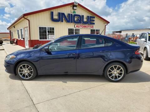 """2014 Dodge Dart for sale at UNIQUE AUTOMOTIVE """"BE UNIQUE"""" in Garden City KS"""