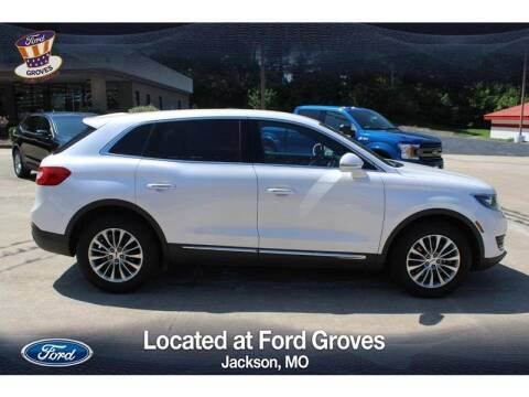 2018 Lincoln MKX for sale at JACKSON FORD GROVES in Jackson MO