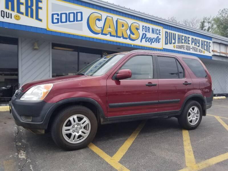 2003 Honda CR-V for sale at Good Cars 4 Nice People in Omaha NE