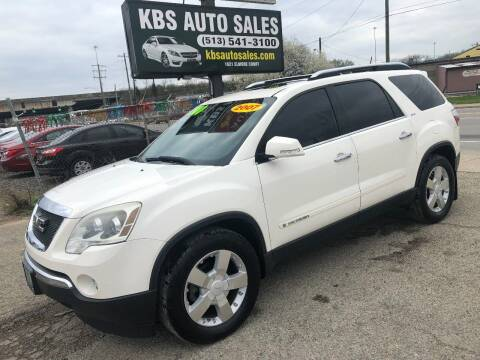 2007 GMC Acadia for sale at KBS Auto Sales in Cincinnati OH