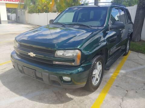 2004 Chevrolet TrailBlazer for sale at Autos by Tom in Largo FL