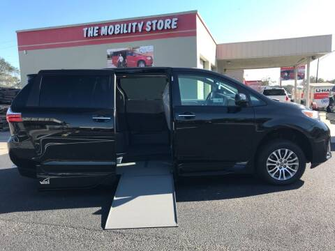 2020 Toyota Sienna for sale at The Mobility Van Store in Lakeland FL