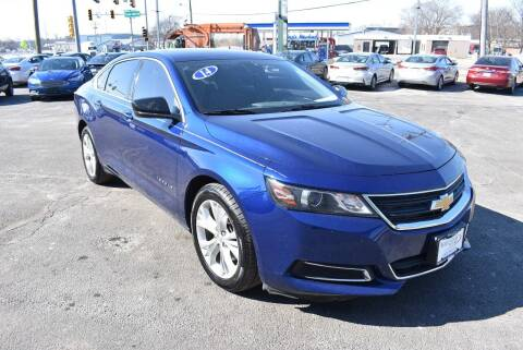 2014 Chevrolet Impala for sale at World Class Motors in Rockford IL