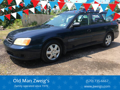 2002 Subaru Legacy for sale at Old Man Zweig's in Plymouth Township PA