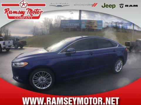 2014 Ford Fusion for sale at RAMSEY MOTOR CO in Harrison AR