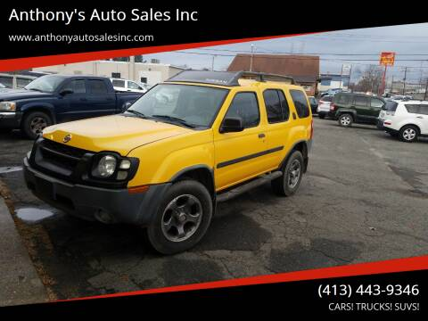 2004 Nissan Xterra for sale at Anthony's Auto Sales Inc in Pittsfield MA