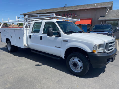 2002 Ford F-450 Super Duty for sale at Dorn Brothers Truck and Auto Sales in Salem OR