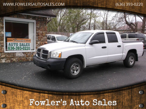 2005 Dodge Dakota for sale at Fowler's Auto Sales in Pacific MO