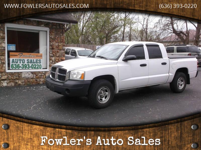 2005 Dodge Dakota for sale at Fowler's Auto Sales in Pacific MO