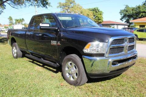 2016 RAM Ram Pickup 2500 for sale at Truck and Van Outlet in Miami FL