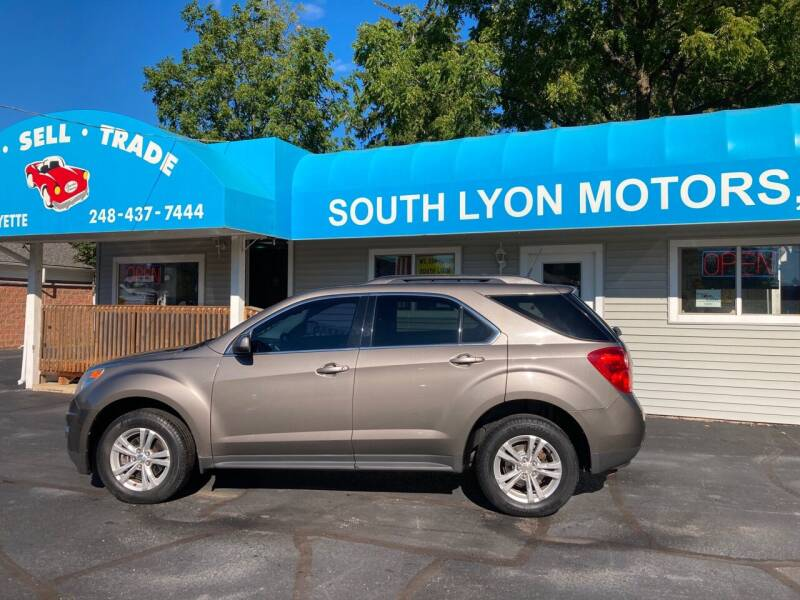 2011 Chevrolet Equinox for sale at South Lyon Motors INC in South Lyon MI