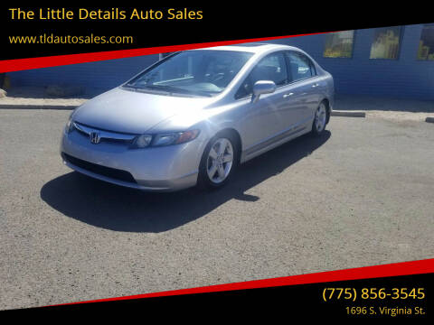 2008 Honda Civic for sale at The Little Details Auto Sales in Reno NV
