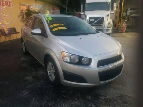 2014 Chevrolet Sonic for sale at VALDO AUTO SALES in Miami FL
