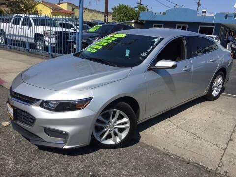 2018 Chevrolet Malibu for sale at 2955 FIRESTONE BLVD in South Gate CA