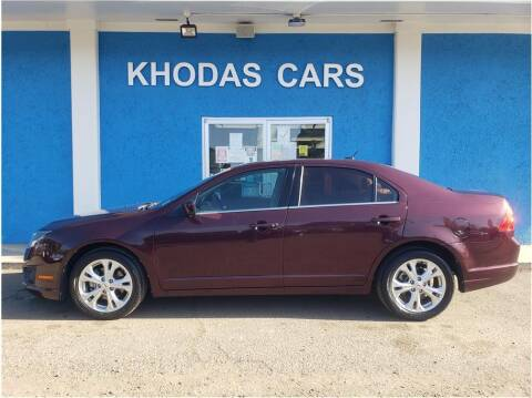 2012 Ford Fusion for sale at Khodas Cars in Gilroy CA