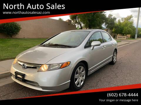 2008 Honda Civic for sale at North Auto Sales in Phoenix AZ