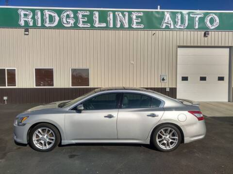 2011 Nissan Maxima for sale at RIDGELINE AUTO in Chubbuck ID