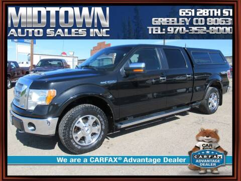 2010 Ford F-150 for sale at MIDTOWN AUTO SALES INC in Greeley CO