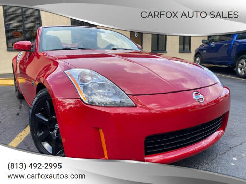 2005 Nissan 350Z for sale at Carfox Auto Sales in Tampa FL