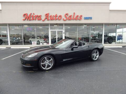 2008 Chevrolet Corvette for sale at Mira Auto Sales in Dayton OH