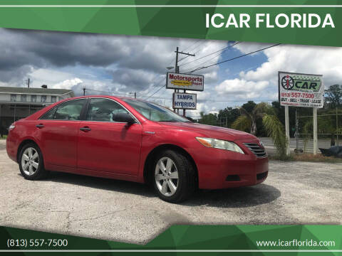 2009 Toyota Camry Hybrid for sale at ICar Florida in Lutz FL