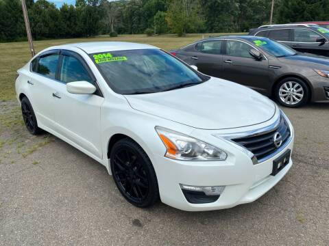 2014 Nissan Altima for sale at Hillside Motors in Campbell NY