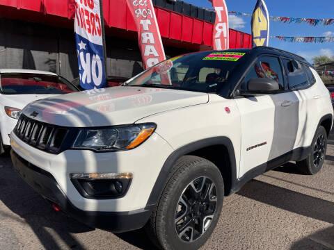 2020 Jeep Compass for sale at Duke City Auto LLC in Gallup NM