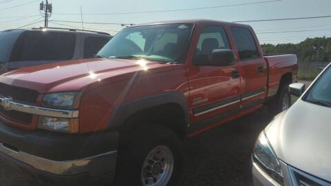 2004 Chevrolet Silverado 2500HD for sale at Pepp Motors in Marquette MI