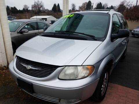 2002 Chrysler Town and Country for sale at Marvelous Motors in Garden City ID