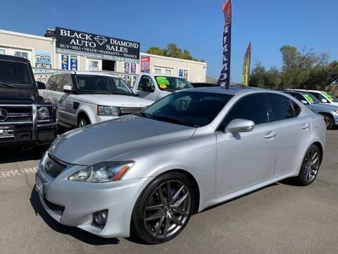 2011 Lexus IS 250 for sale at Black Diamond Auto Sales Inc. in Rancho Cordova CA
