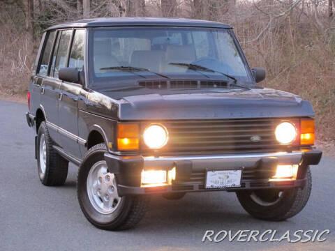 1995 Land Rover Range Rover for sale at Isuzu Classic in Cream Ridge NJ