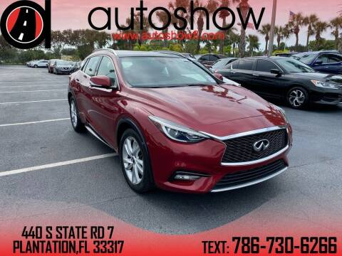 2017 Infiniti QX30 for sale at AUTOSHOW SALES & SERVICE in Plantation FL