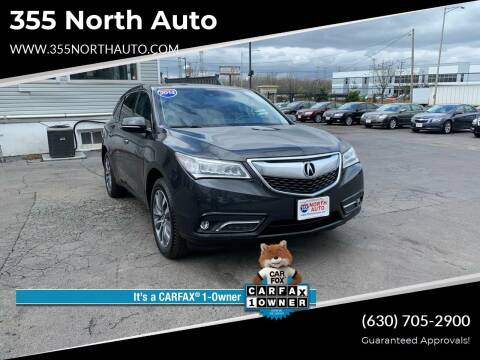 2014 Acura MDX for sale at 355 North Auto in Lombard IL