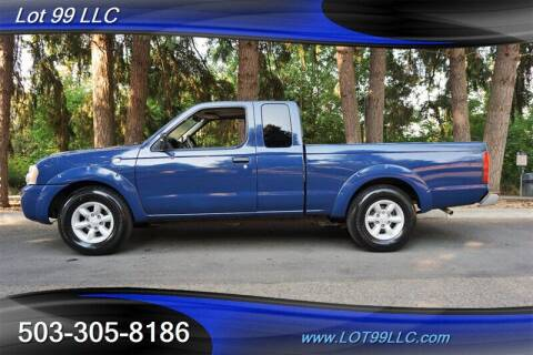 2001 Nissan Frontier for sale at LOT 99 LLC in Milwaukie OR