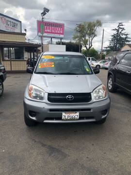 2005 Toyota RAV4 for sale at Victory Auto Sales in Stockton CA