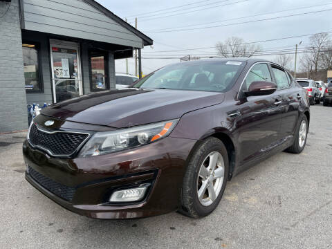 2014 Kia Optima for sale at Diana Rico LLC in Dalton GA