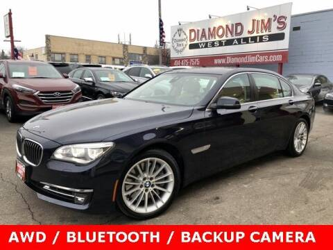 2013 BMW 7 Series for sale at Diamond Jim's West Allis in West Allis WI