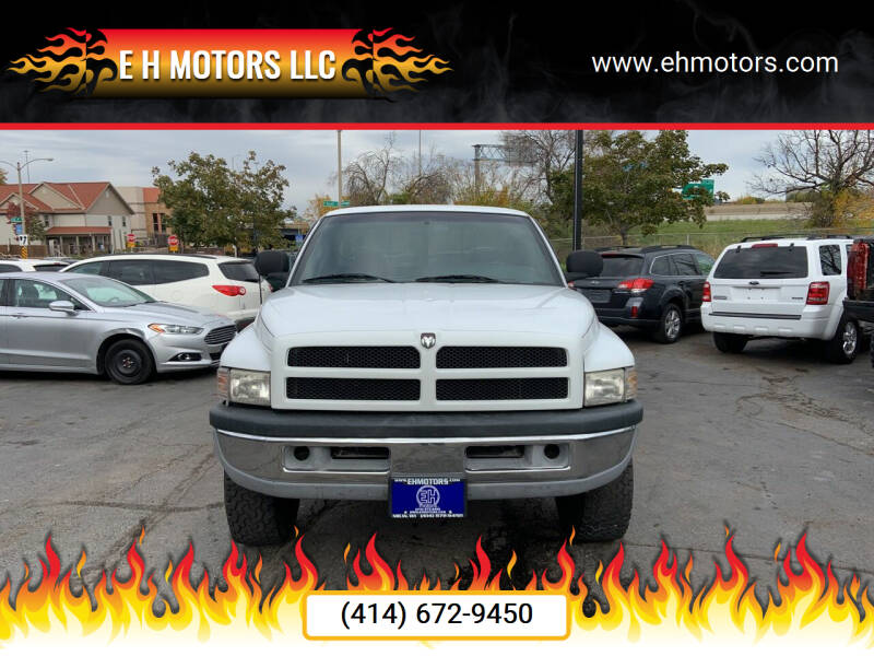 1998 Dodge Ram Pickup 1500 for sale at E H Motors LLC in Milwaukee WI