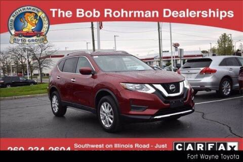 2018 Nissan Rogue for sale at BOB ROHRMAN FORT WAYNE TOYOTA in Fort Wayne IN