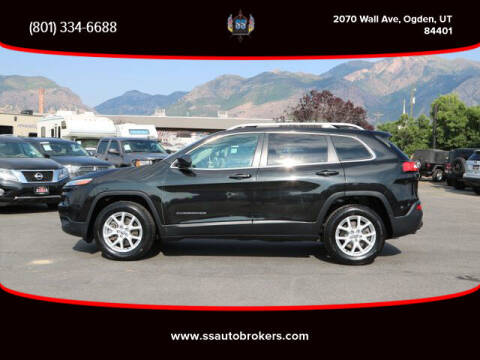 2014 Jeep Cherokee for sale at S S Auto Brokers in Ogden UT