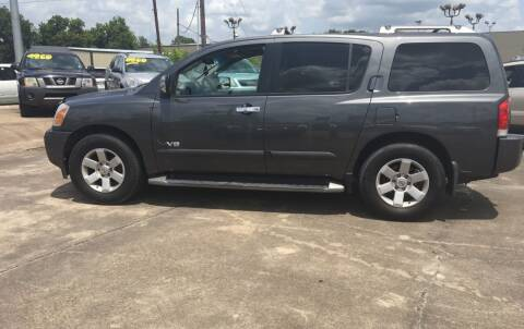2005 Nissan Armada for sale at Bobby Lafleur Auto Sales in Lake Charles LA