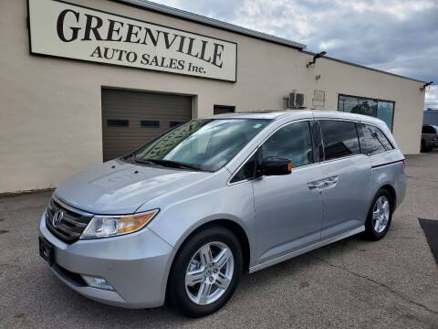 2011 Honda Odyssey for sale at Greenville Auto Sales in Warwick RI