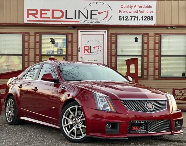 2011 Cadillac CTS-V for sale at REDLINE AUTO SALES LLC in Cedar Creek TX