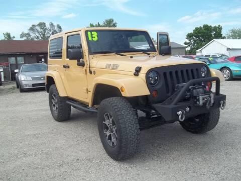 2013 Jeep Wrangler for sale at BRETT SPAULDING SALES in Onawa IA